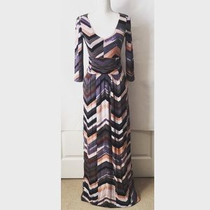 Anthropologie Maeve Novela Maxi Dress